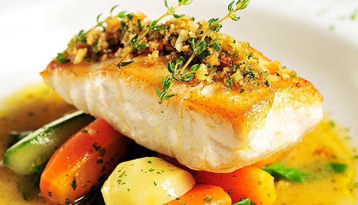 Receitas funcionais peixe com legumes