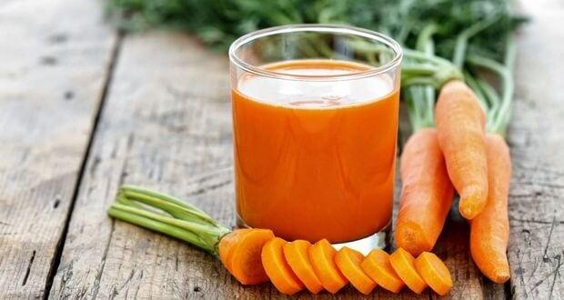 Sucos funcionais cenoura