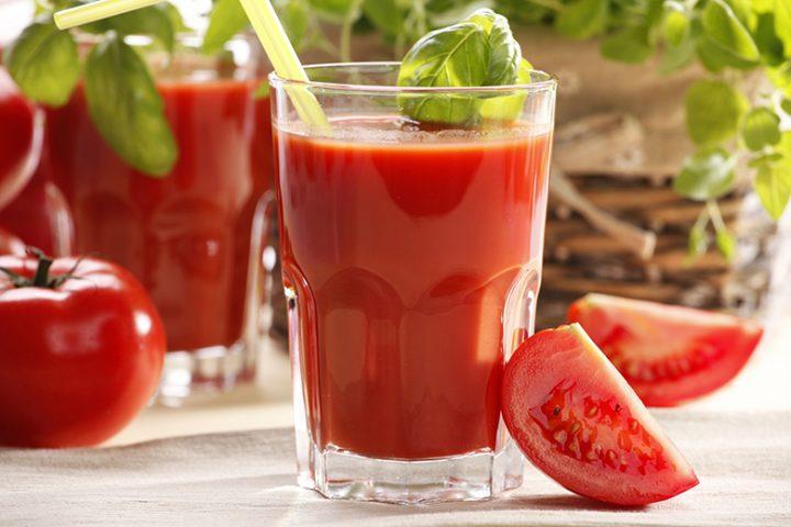 Sucos funcionais tomate