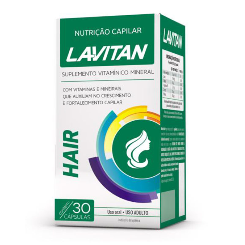 Lavitan Hair embalagem