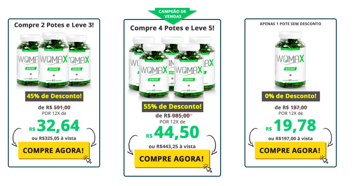 preço do Womax