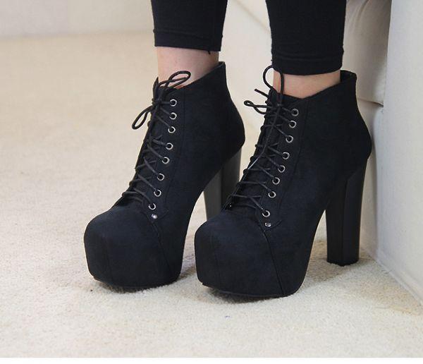 botal de salto Ankle Boot