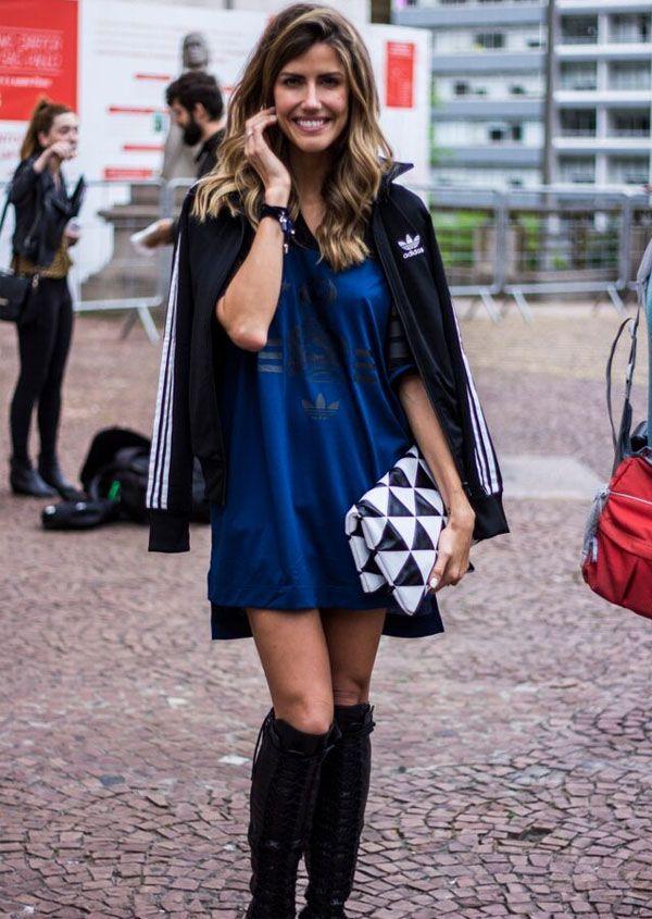 Look Casaco feminino Adidas
