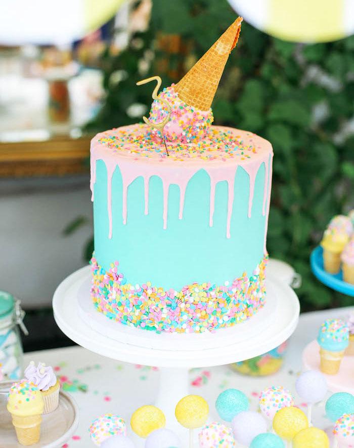 drip cake infantil