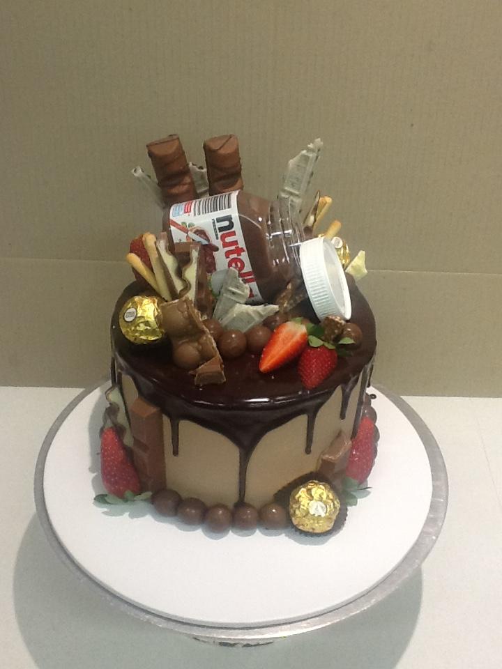 drip cake divertido