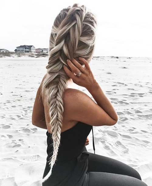cabelos platinados mechas
