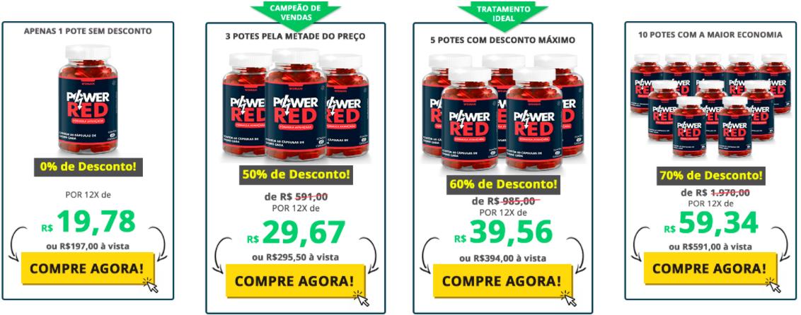 preços power red
