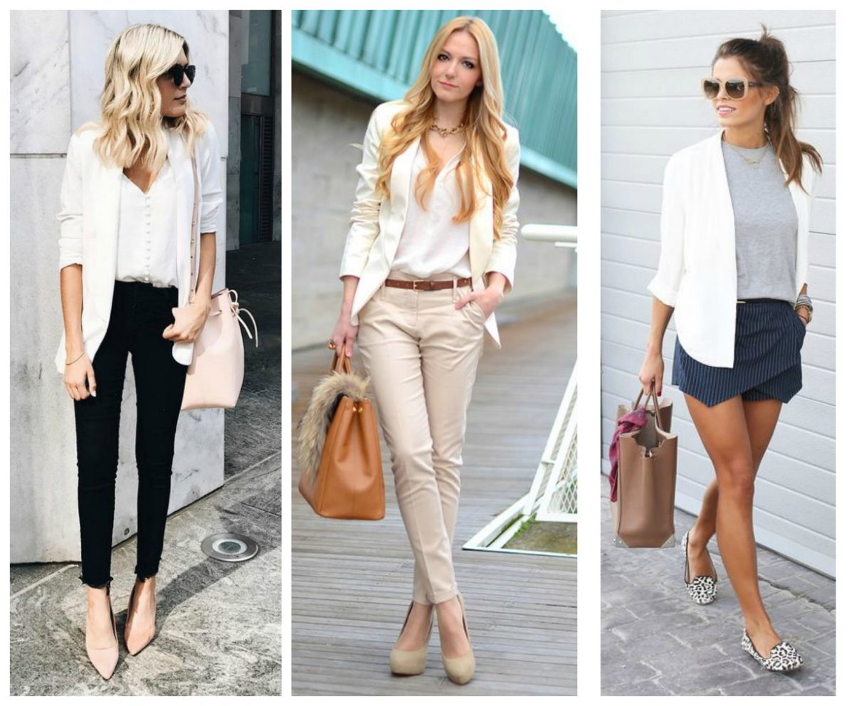roupas elegantes trabalhar
