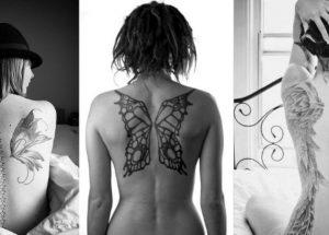 Tatuagem feminina nas costas: 60 imagens pra você se inspirar!