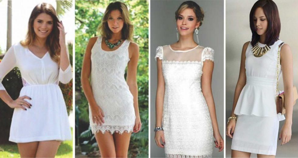 bf0a13d8e Vestido branco: Saiba dicas INCRÍVEIS para montar um look PERFEITO!