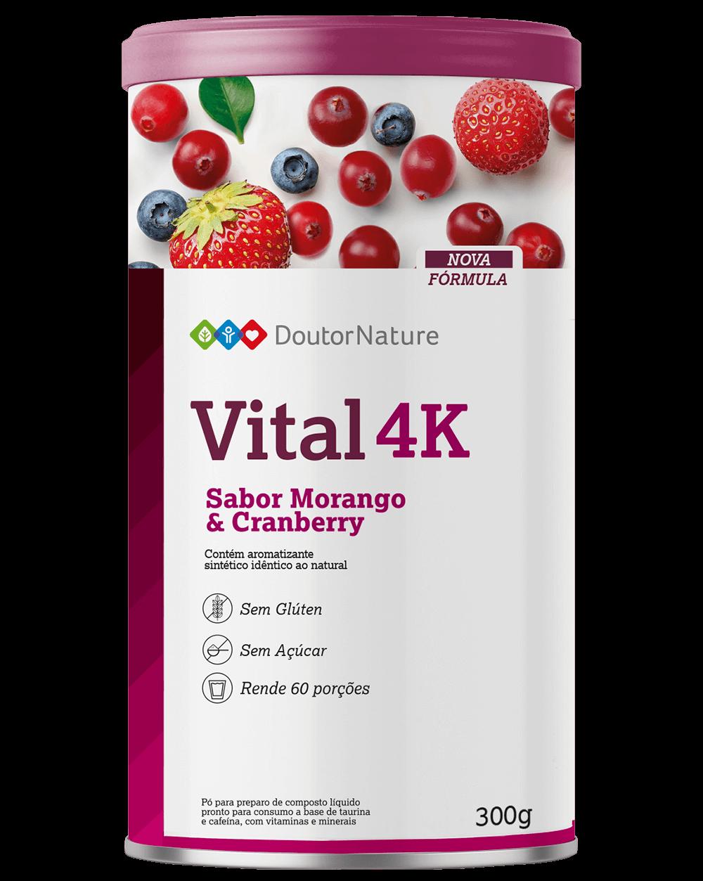 vital 4k embalagem