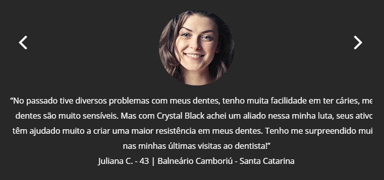 depoimento crystal black