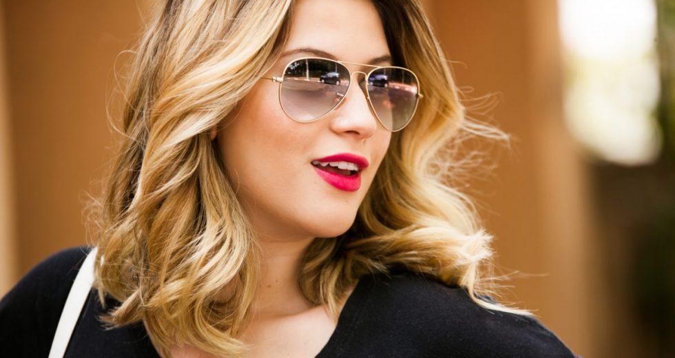9c6d79eef09e1 Combinar o óculos com o look  Óculos aviador, óculos grandes, óculos  espelhados…