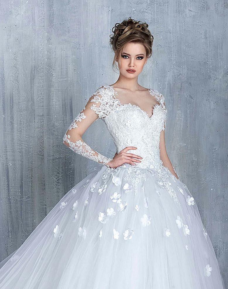 vestido de noiva 2019 princesa