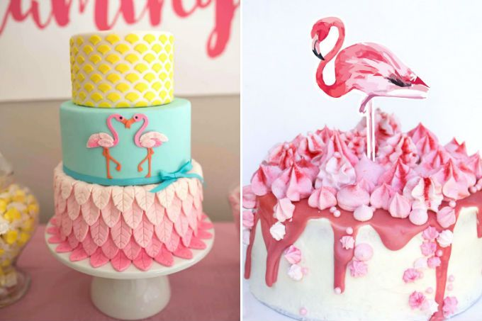 temas festa flamingos