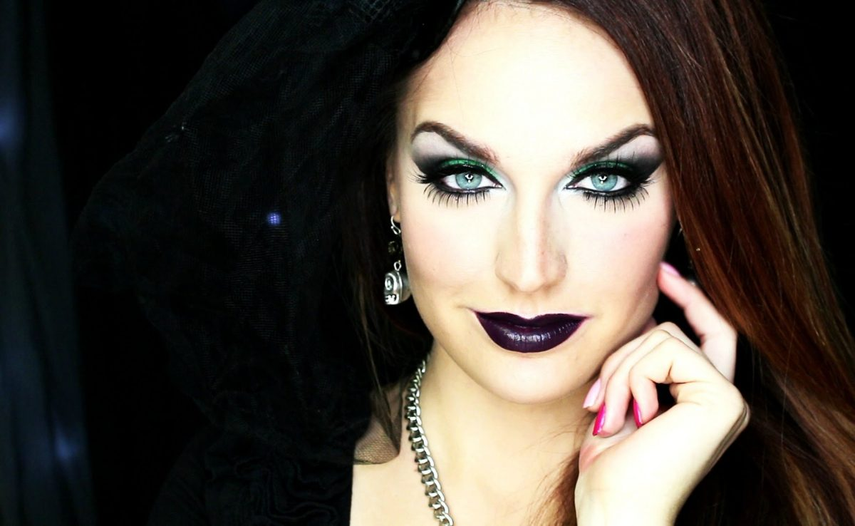 maquiagem bruxa moderna