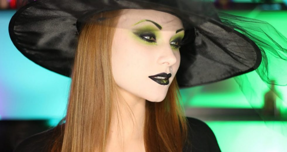 Maquiagem de bruxa: Simples, fácil, para pele negra, bruxa moderna…