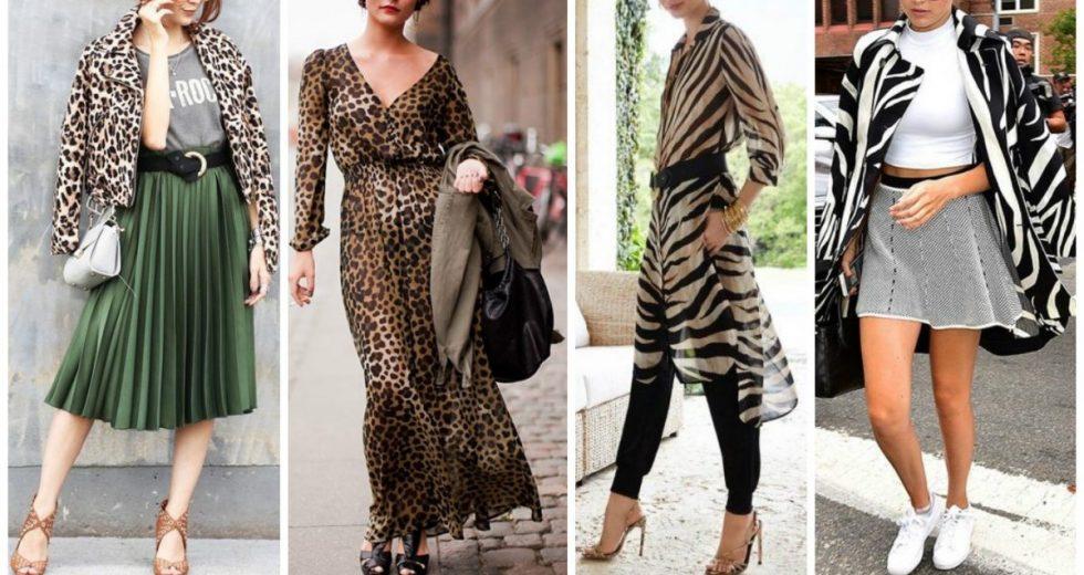 Animal print: Estampa de onça, cobra, zebra, leopardo… Veja como usar essa super tendência de 2019!