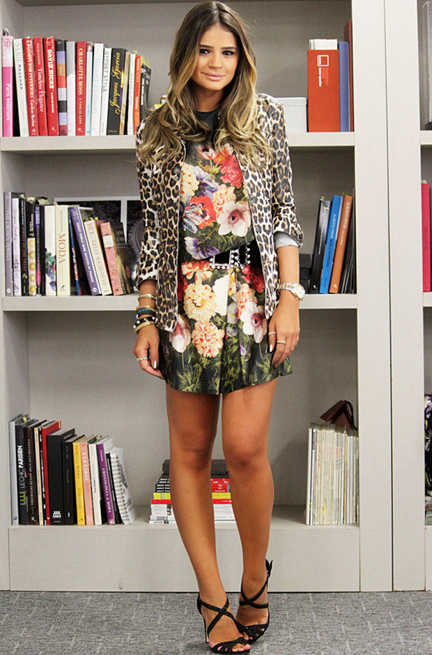 mix de estampas animal print