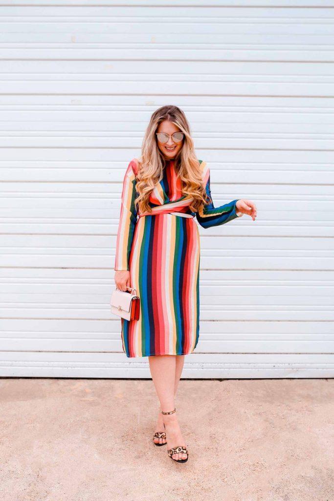 listras coloridas moda