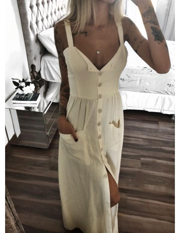 vestido de linho