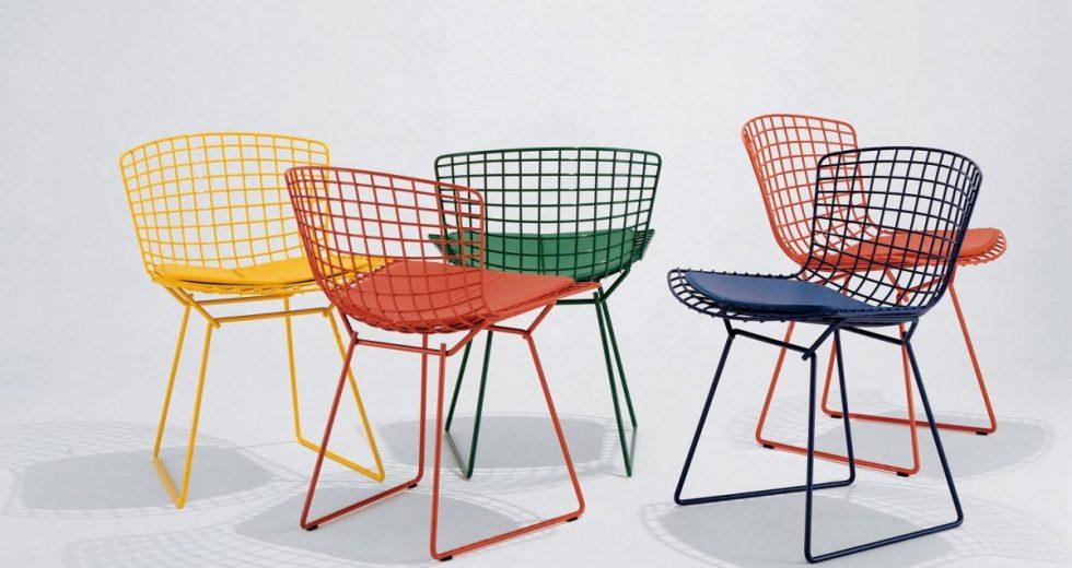 Cadeira bertoia: Aprenda as cores ideias para decoração da sua casa!