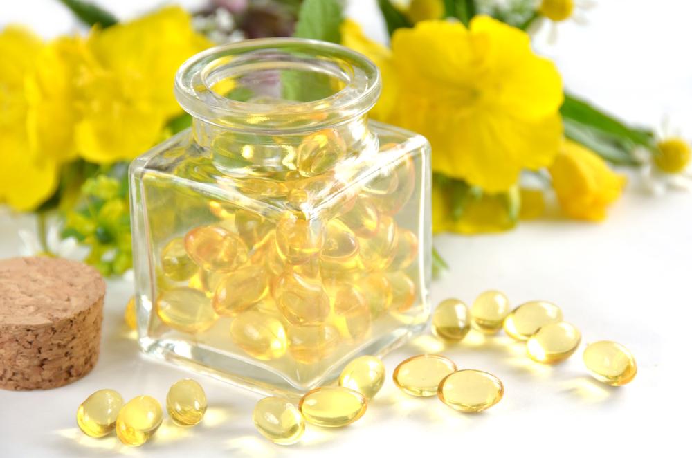 óleo de prímula natural