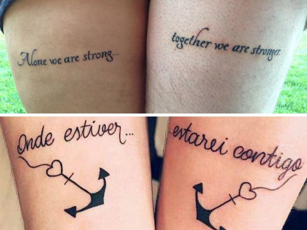 frases para tatuagem de casal