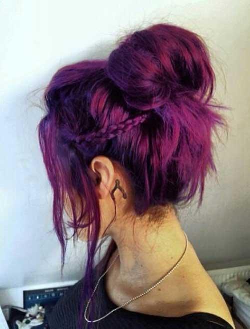 cabelo marsala violeta