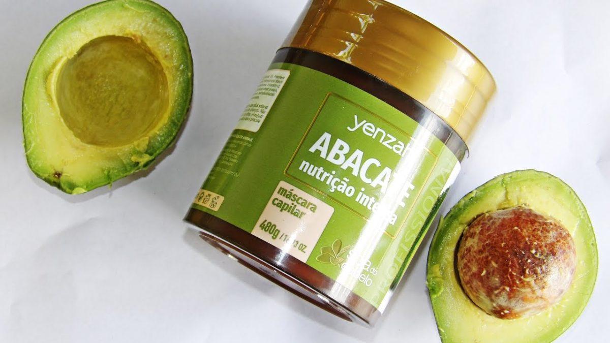 abacate para hidratação no cabelo