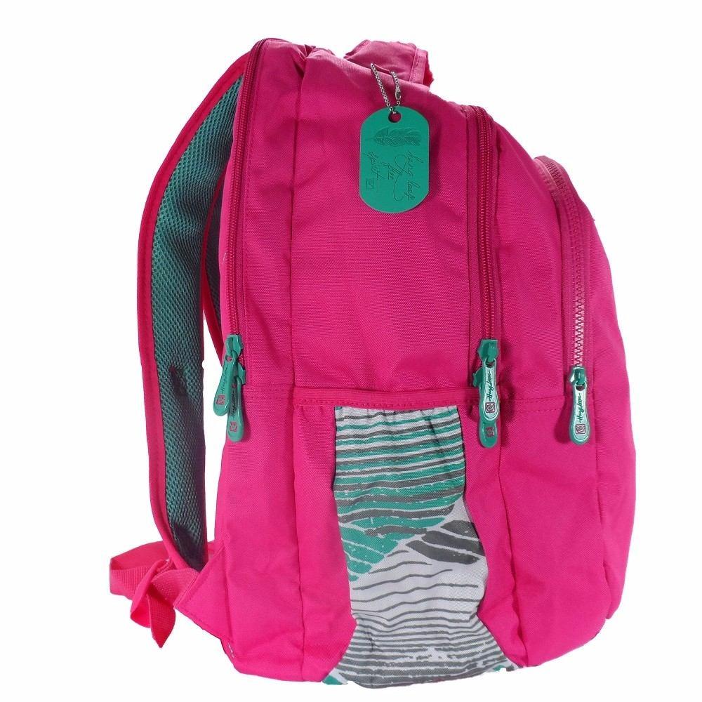 mochila feminina para escola rosa