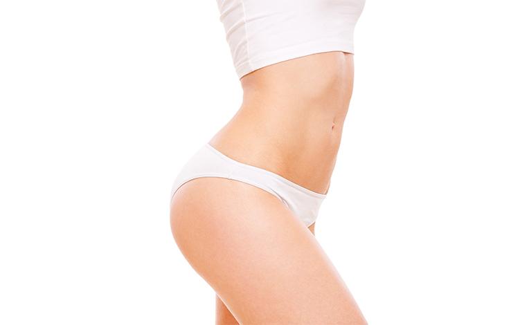 mulher magra sem celulites graças ao womax gel