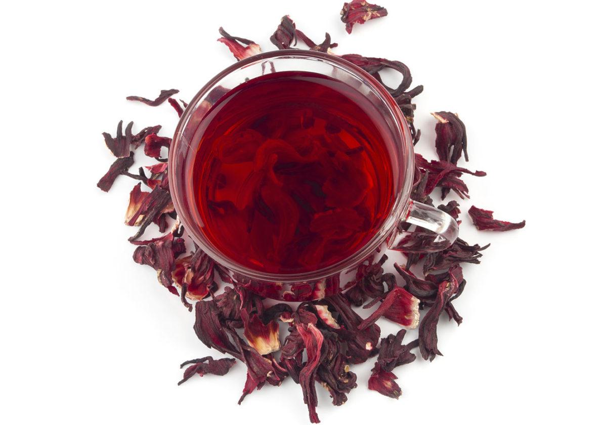 contraindicações do chá de hibisco