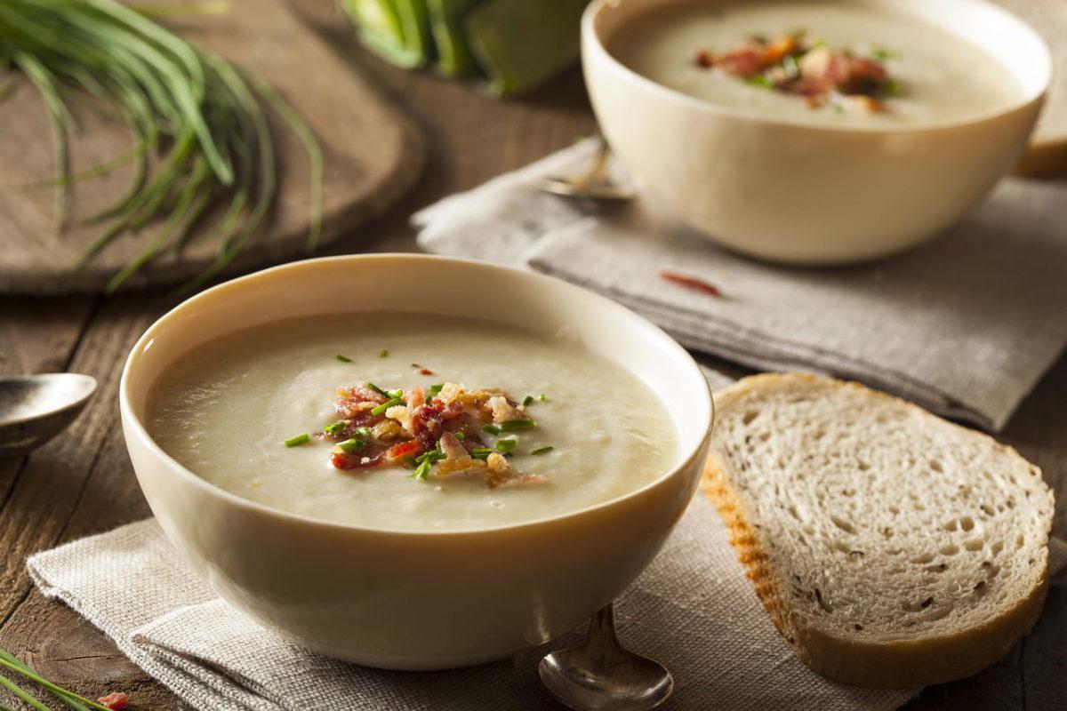 sopas e cremes como comidas de inverno