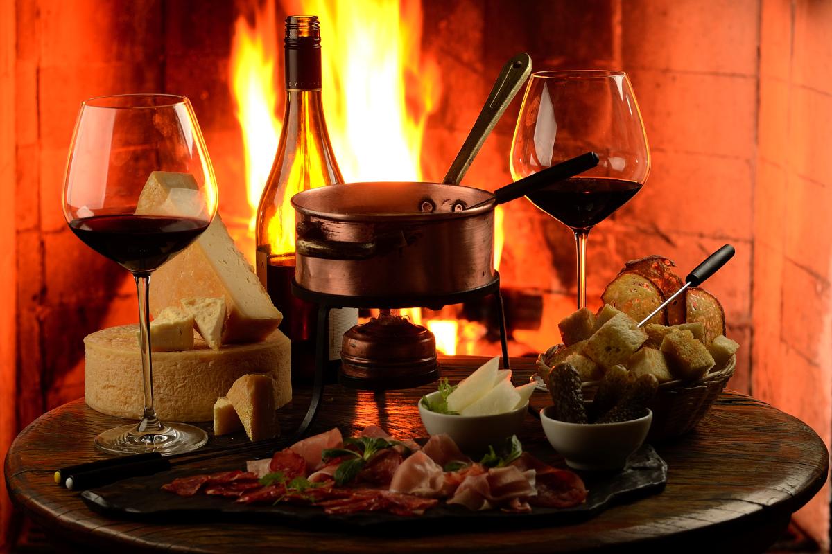 vinhos como comidas de inverno