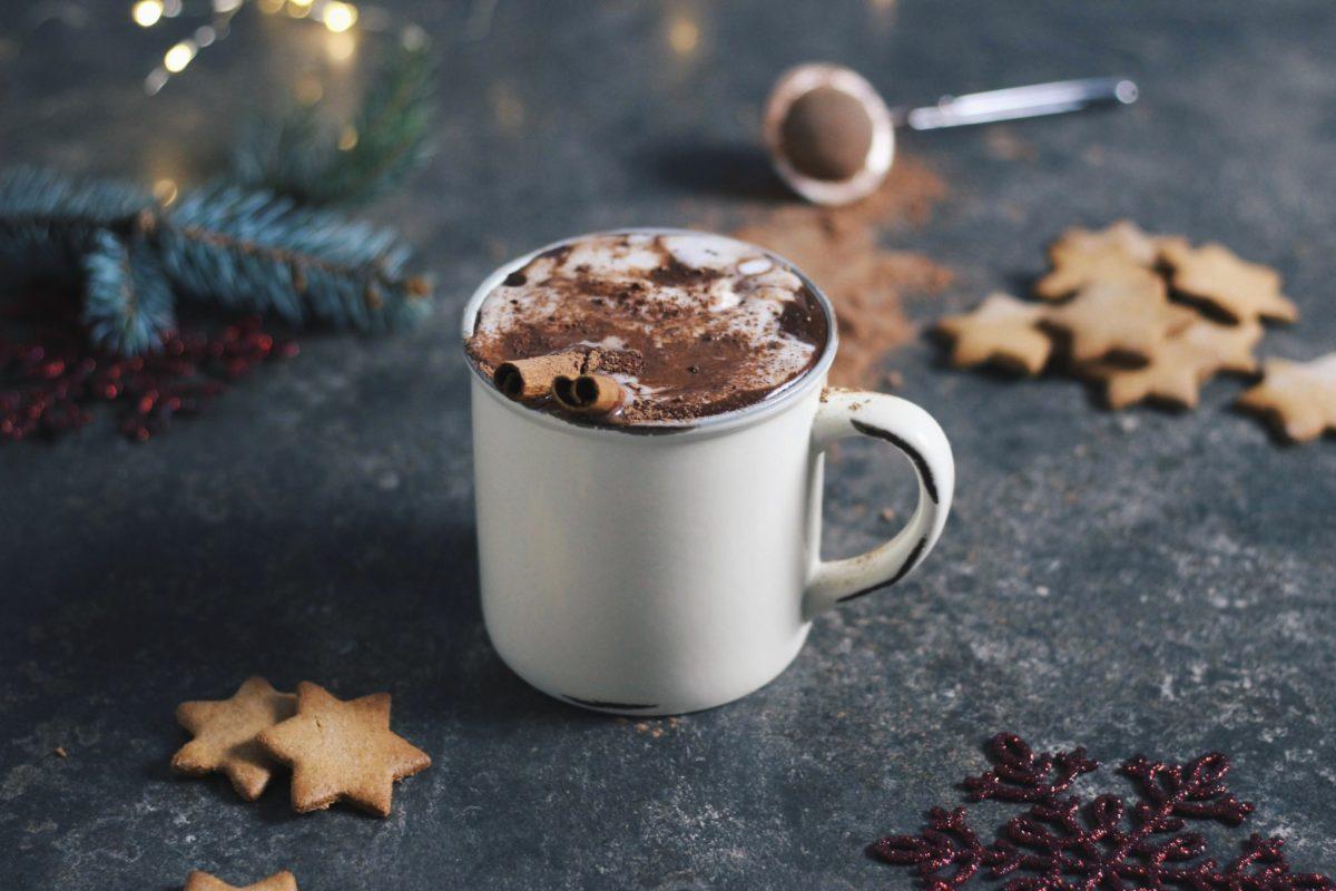 chocolate quente saudável para o inverno