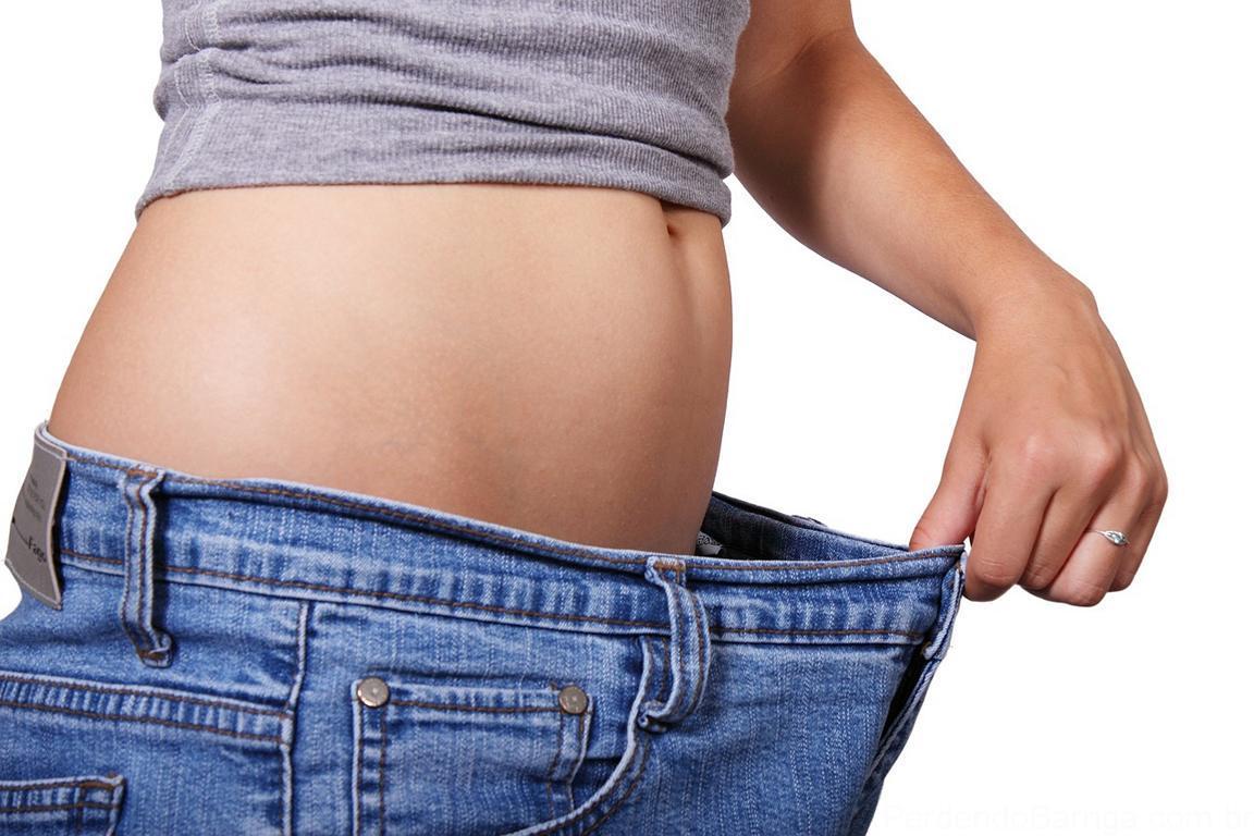 como emagrecer rápido calça jeans larga