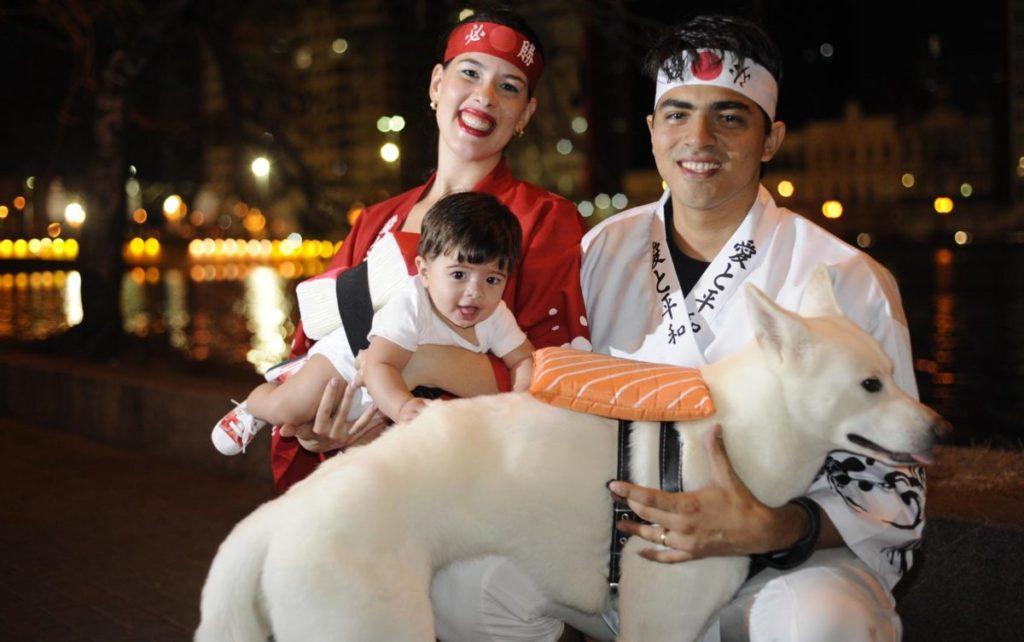 fantasia de carnaval para casal com filho