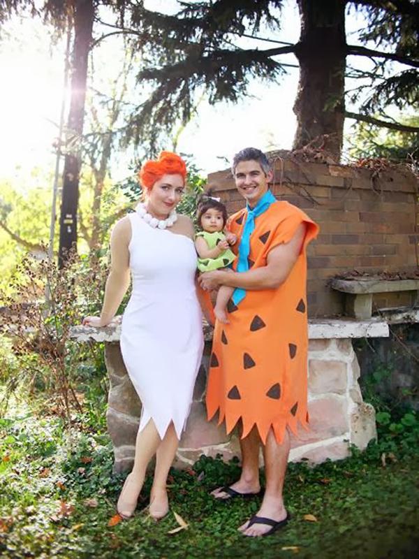 fantasia de casal com filhos
