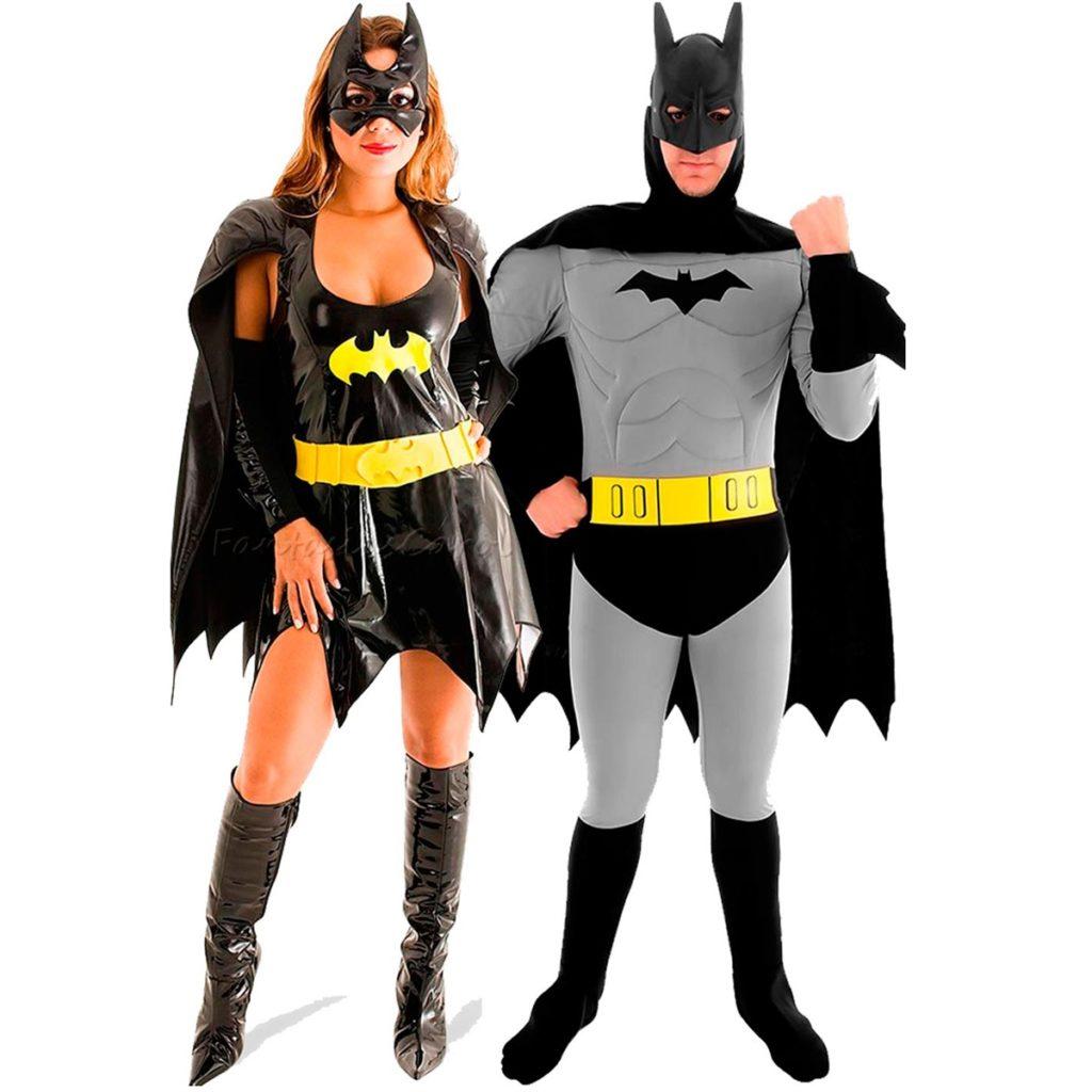Fantasia de casal de batman