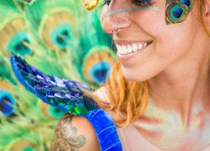 Maquiagem de carnaval: Sereia, unicónio, com glitter, com strass e outras inspirações!
