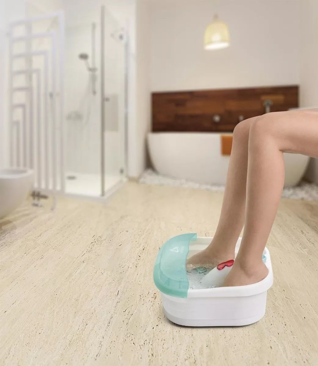 massageador elétrico para os pés