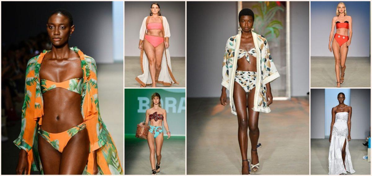 moda praia tendências de biquínis e saídas de praia