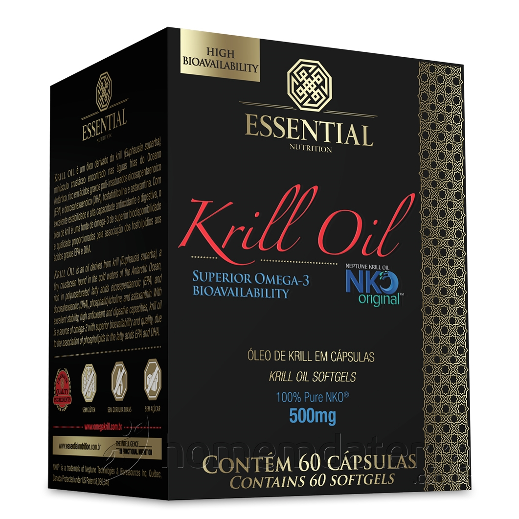 óleo de krill essential