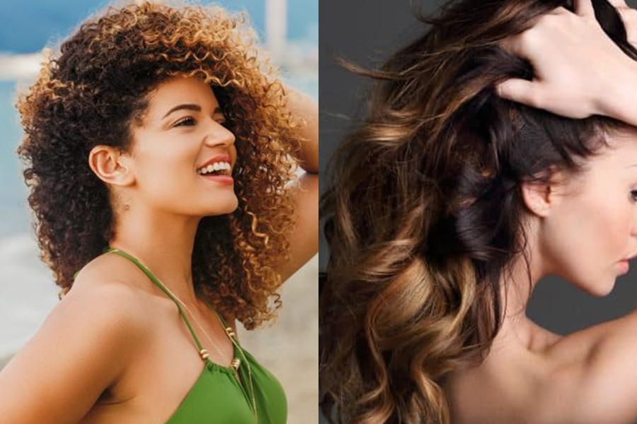 mulheres que optaram por usar ombré hair mel