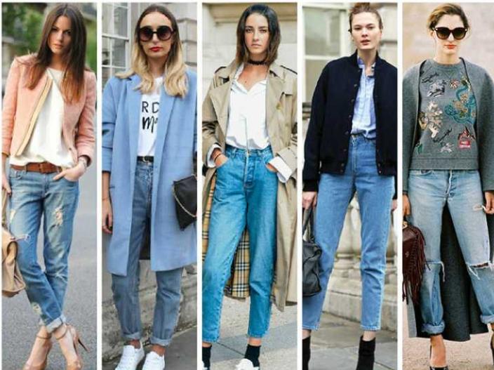 jeans como roupas de inverno