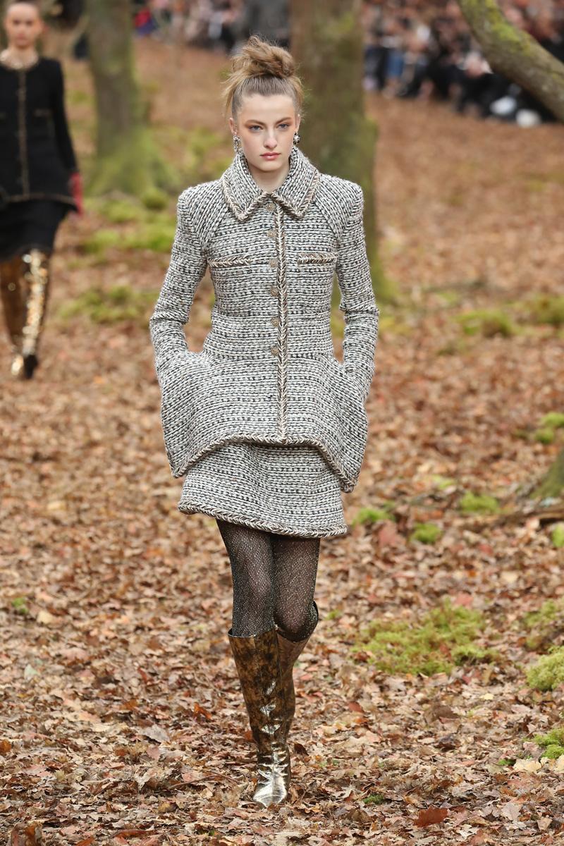 roupa de invern tweed