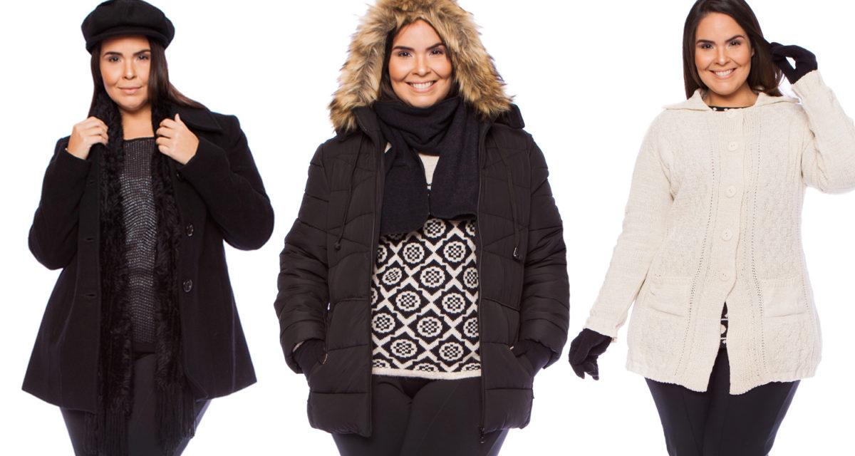 roupa plus size de frio