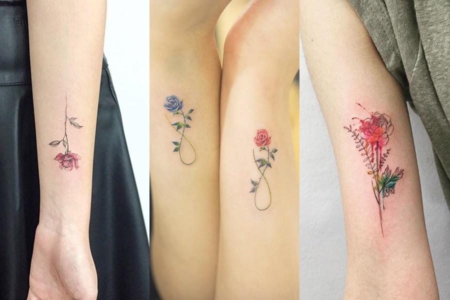 tatuagens mais delicadas de rosas