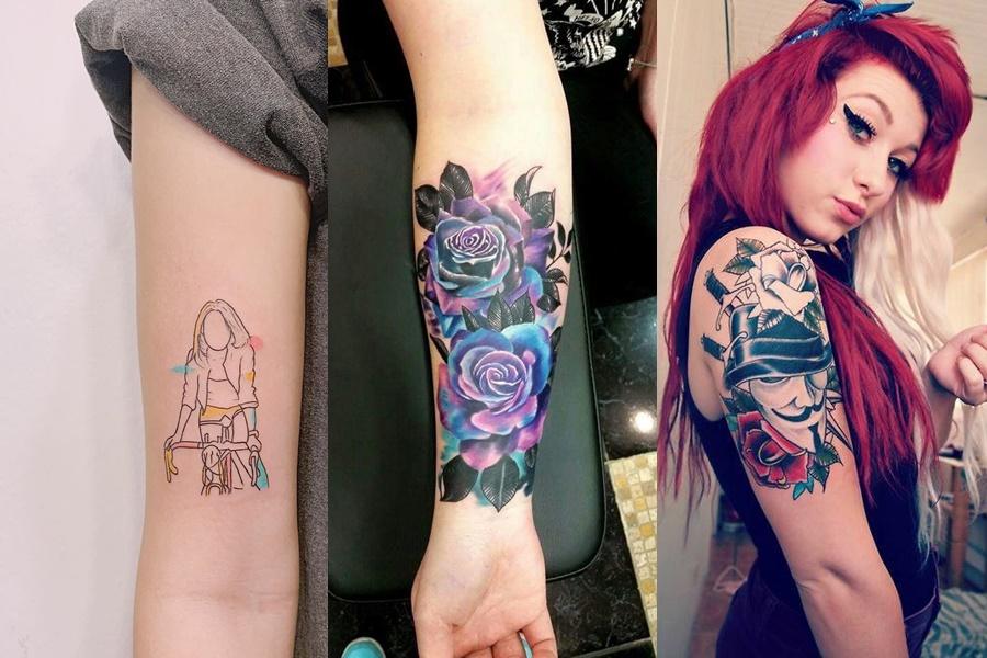 exemplos de tattoos coloridas